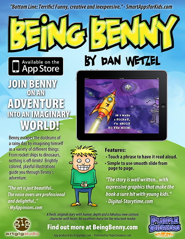 Being Benny - The Children's Picture Book